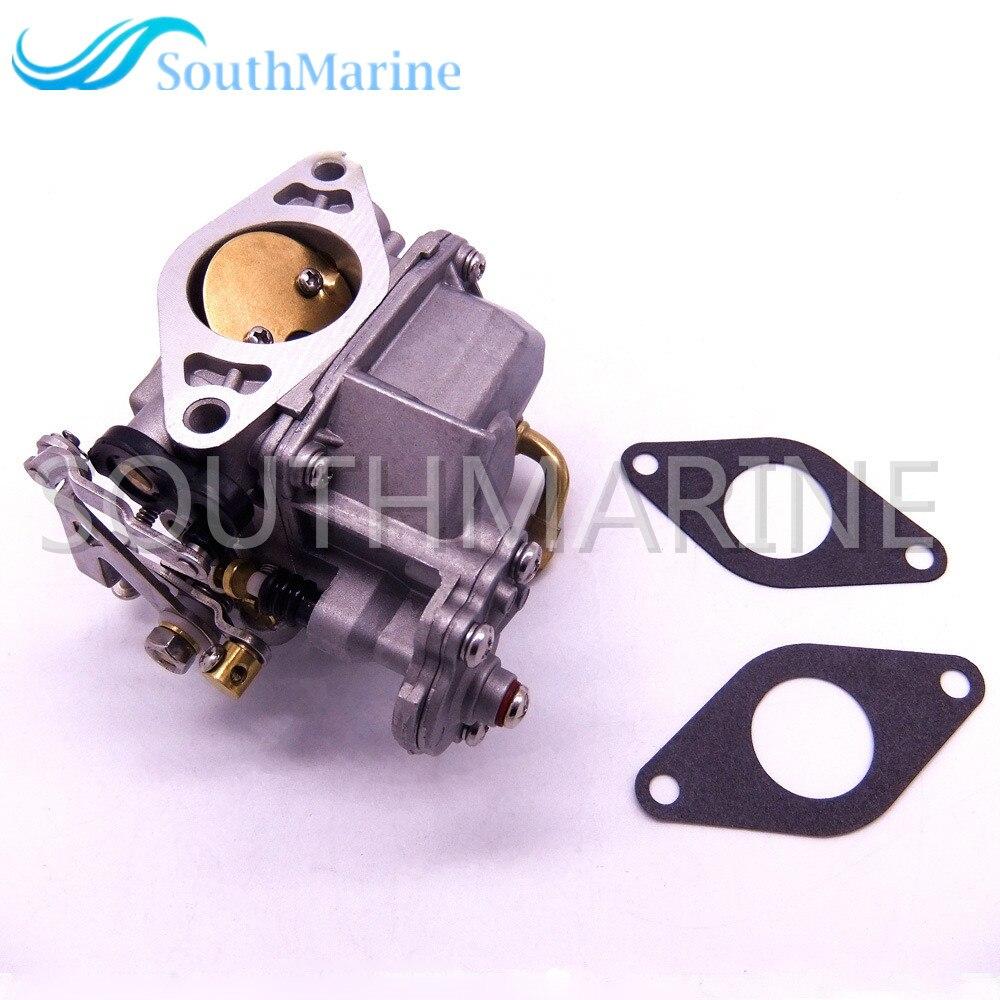 Boat Engine 3DP-03100-2 Carburetor Assy and 3V1-02011-0 3V1020110M Gasket for Tohatsu Nissan MFS8 MFS9.8B MFS9.8A3 4-Stroke