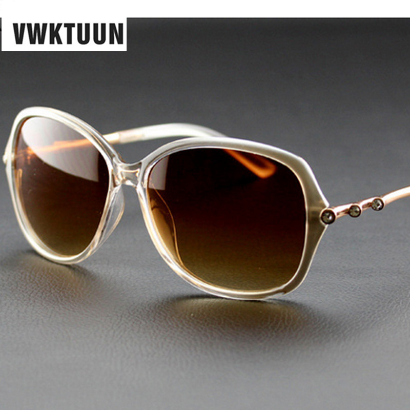 Vintage Big Frame Glasses : VWKTUUN Women Sunglasses Oversized Glasses Vintage Big ...
