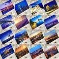 6 pcs in one,Postcard,Charm Tourist City,Christmas Postcards Greeting Birthday Message Cards Paris Venice Dubai Bangkok London