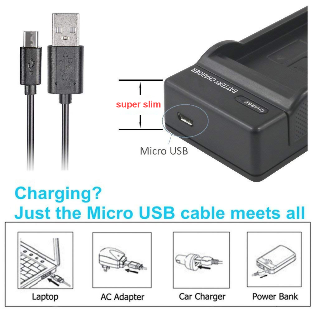 SANGER NB 6L USB Charger for Canon IXUS 310 SX240 SX275 SX280 SX510 SX500 HS 95 200 105 210 300 S90 Camera Battery NB6L Charge in Chargers from Consumer Electronics