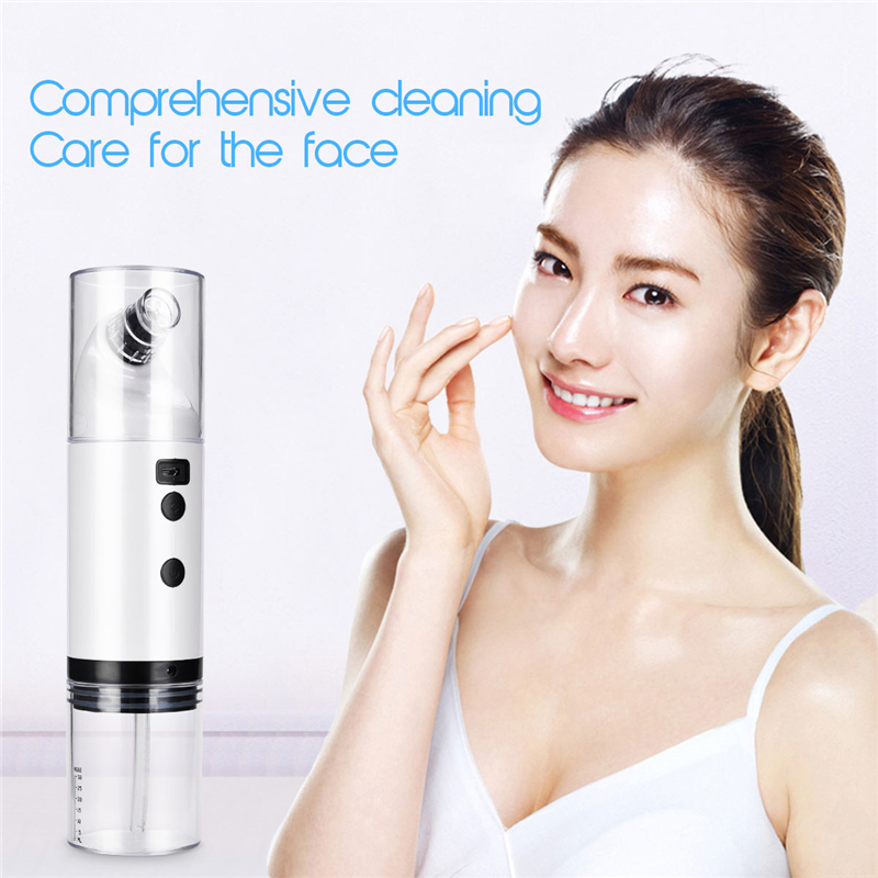 Small Bubble Electric Facial Cleaning Vacuum Cleaner Blackhead Ance Remover Shrink Pores Hydrating Skin Care Peeling Face LiftSmall Bubble Electric Facial Cleaning Vacuum Cleaner Blackhead Ance Remover Shrink Pores Hydrating Skin Care Peeling Face Lift
