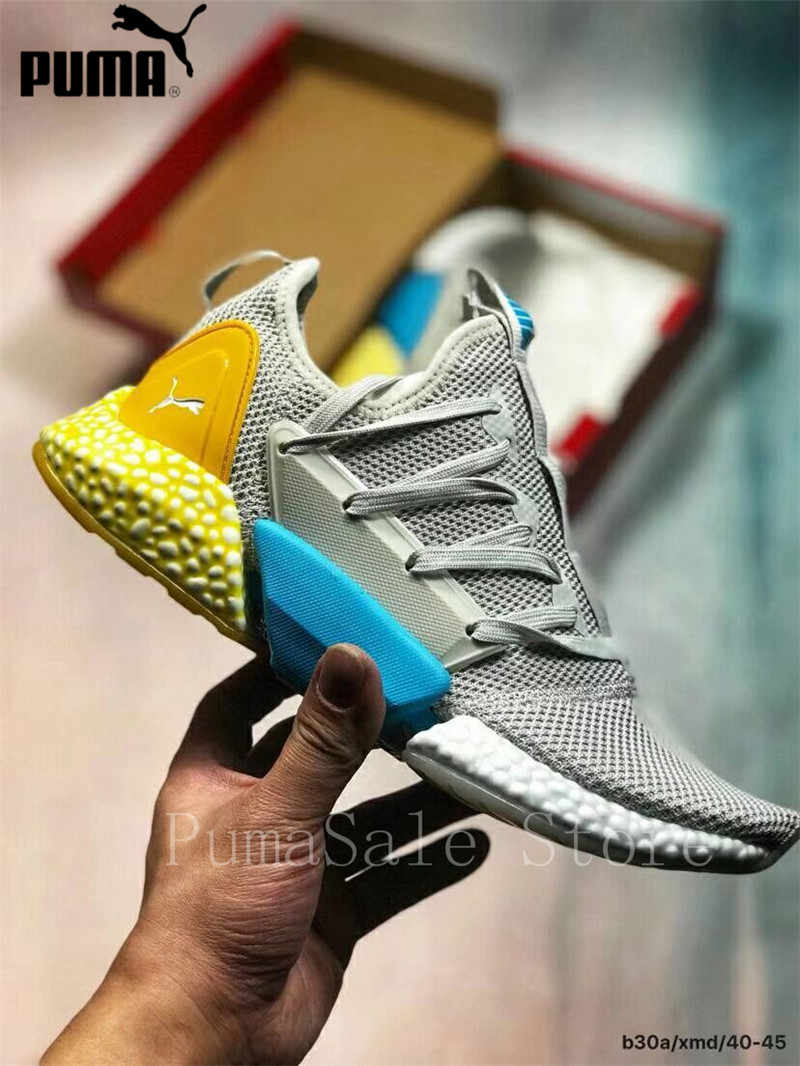 810cf8cf1bbf0 Hybrid Rocket Runner Shock Absorber Particles Men's Sneakers Sport Shoes  Cushioning Sole Women Badminton Shoes 36-45