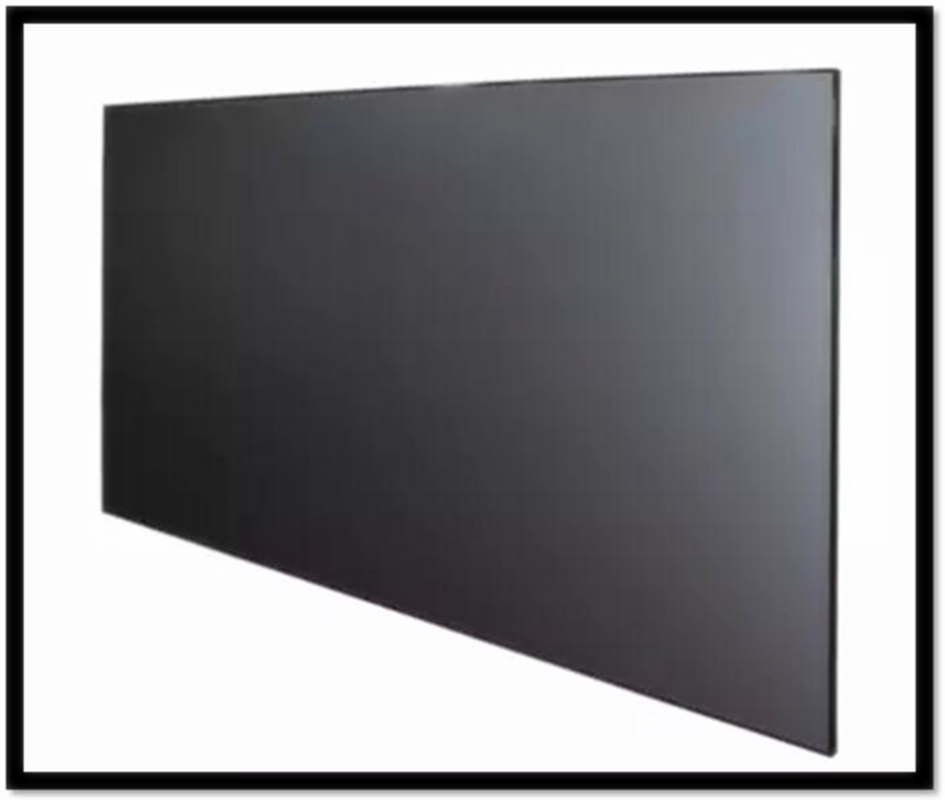 135 Inch 16:9 HDTV 4K 3D Anti-Light Rejection Black Crystal Ultra Thin Fixed Frame Projector Screen for Long Focus Projector support for customfree shipping 120 inch projector mount screen 16 9 gf grey