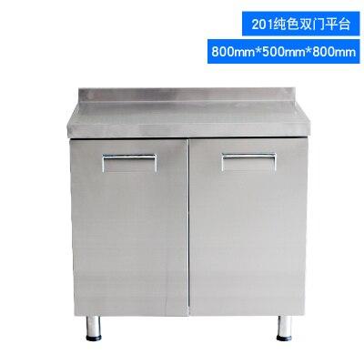 Stainless Steel Kitchen Work Food Prep Table Stainless Steel Kitchen - Stainless steel table with storage