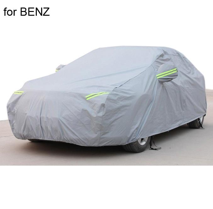 Marvelous Para Mercedes Benz W203 W204 W211 S300 ML350 Car Covers Com Empresa De  Algodão Engrossar Impermeável Anti UV Neve Poeira Capas De Carro