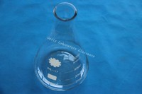 5000ml (5L) Conical flask, Erlenmeyer flask , with wide mouth, (lab glass)
