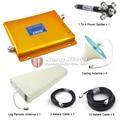 W-CDMA 2100 Mhz Señal de Teléfono Celular 3G Amplificador de Señal UMTS Repetidor con Divisor de Potencia/Antena Log Periódica/Antena de techo