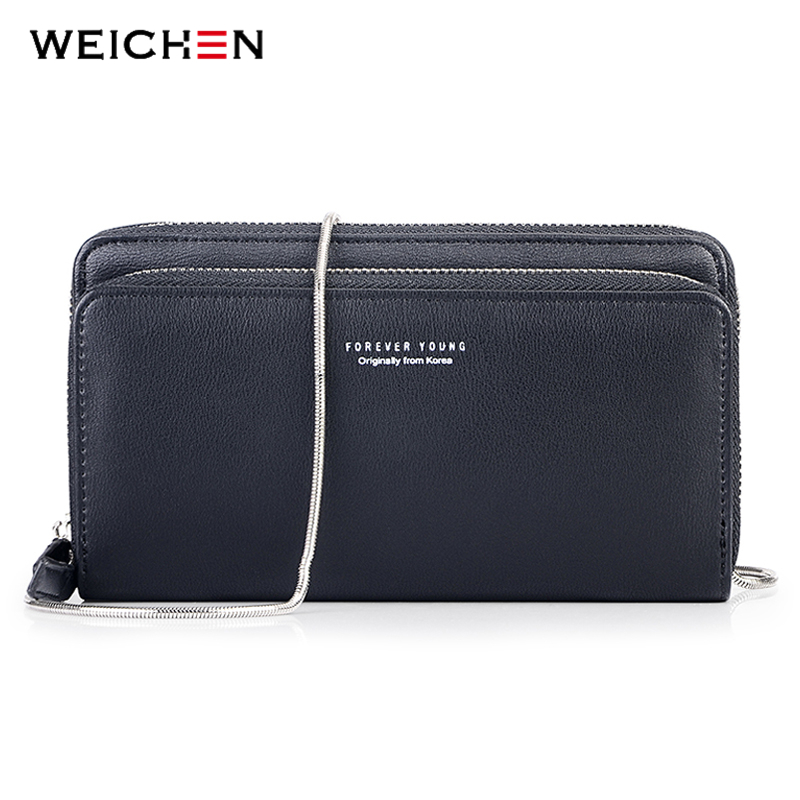 760f05ea910 US $13.77 49% OFF|WEICHEN Latest Mini Women Chain Crossbody & Messenger  Bags Handbag Shoulder Clutch Bolsas Multi Function Wallet Purses For  Women-in ...