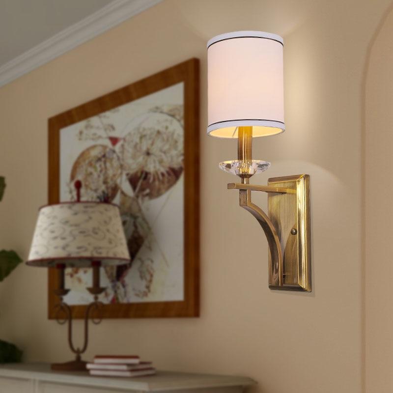Bathroom Light Fixtures With Fabric Shades popular crystal bathroom light-buy cheap crystal bathroom light