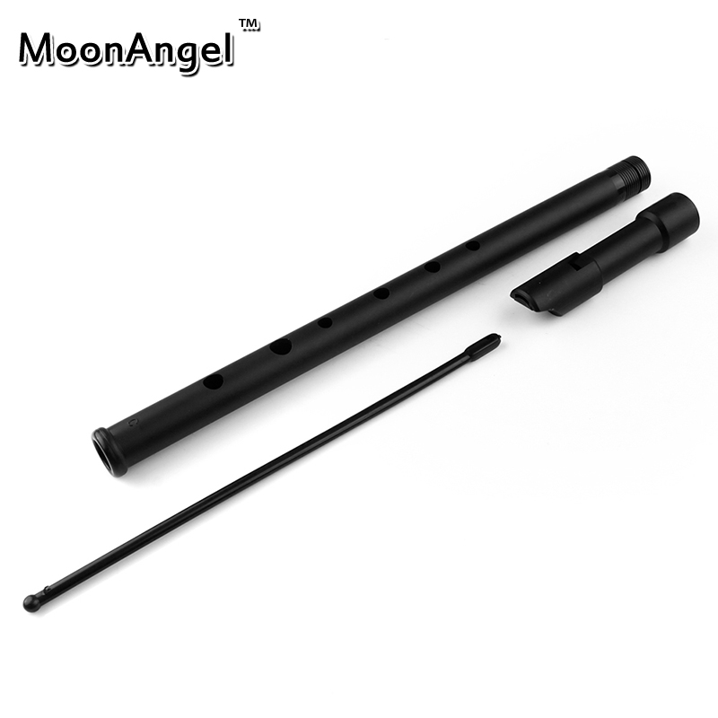 C/D Key Ireland Flute Black ABS Plastic Tinwhistle Ireland Musical Instrument Irish Whistle Flute Woodwind Instrument