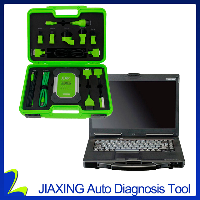 Latest Original JDiag Elite II Wireless with CF53 Laptop Automotive J2534 Diagnostic and Programming Tool Software Preinstalled