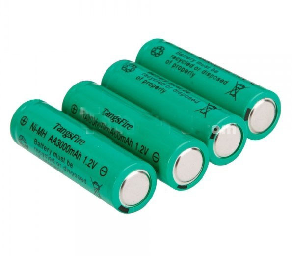 12Pcs TangsFire AA 3000mAh 1.2V Rechargeable Ni-MH Battery Baterias Bateria For Camera control electric toy MP3 player