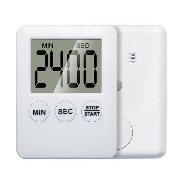 Ultradünne LCD Digital Kochen Count Down Up Clock Lauter Alarm ...