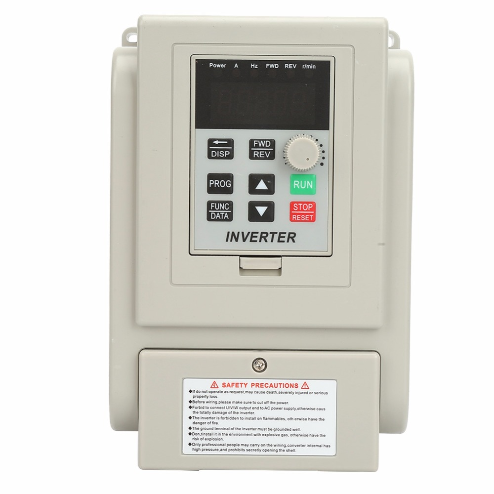 AT2 0750X PWM Control AC 220V Variable Frequency Drive VFD Speed Controller for Single phase 0