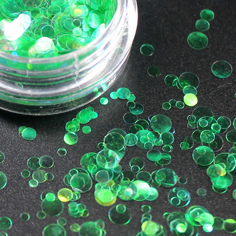 1 коробка блестящие круглые ультратонкие блестки Красочные Блестки для дизайна ногтей УФ гель 3D декоративный Маникюр DIY аксессуары NR234 - Цвет: Многоцветный