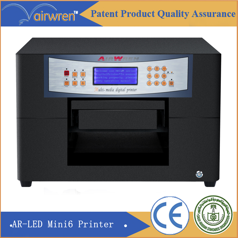 High Quality Pvc Id Card Printer Led Uv Flatbed printer with emboss effect