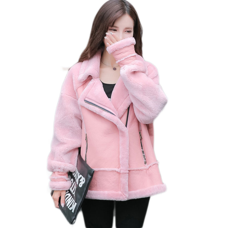 Popular Shearling Lamb Jacket-Buy Cheap Shearling Lamb Jacket lots ...