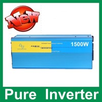 1500W Power Inverter Pure Sine Wave 12V DC To 220V AC Car Converter Inverters Adapter Inverter