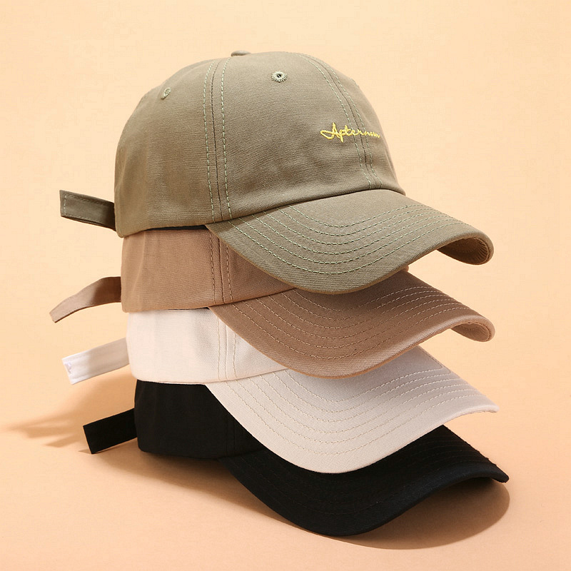 Fashion Letter Embroidery Baseball Caps Men Women Snapback Hip Hop Hat Summer Breathable  Sun Gorras Unisex Streetwear Bone A37