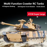 Америка M1A2 России T90 удаленного Управление Танк 1:16 2,4 г броневик RC боевой танк BB пуля/дым/ звук электронные модель автомобиля