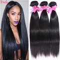 Peerless Brazilian Virgin Hair Straight 3 Bundles Brazilian Hair Weave Bundles Human Hair Weave 7A Grade Brazilian Straight Hair