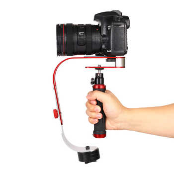 Estabilizador de mano cardán cámara Digital videocámara Steadicam para Gopro DSLR SLR DV deportes estabilizador de cámara DSLR Universal