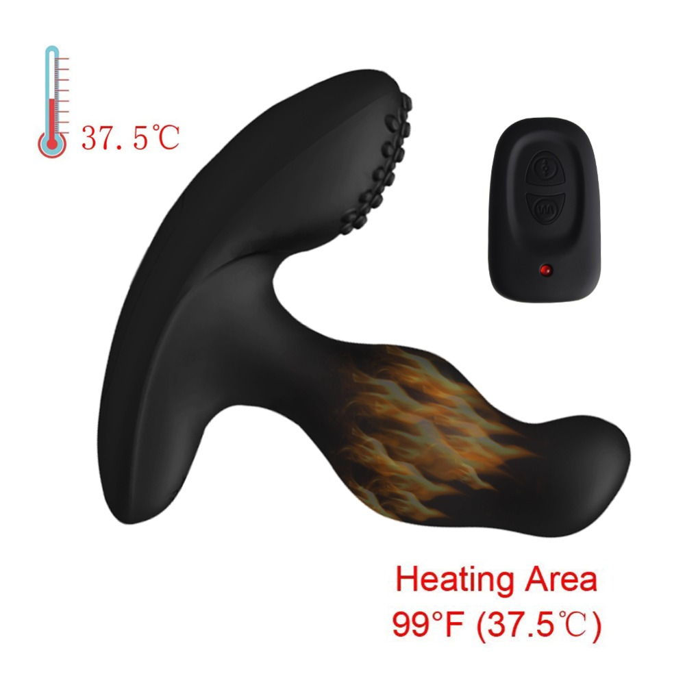2019 Wholesales Intelligent Heating Prostate Massager Anal Sex Toys for Men Gay Dual Motors Remote Control Adult Sex Toys 100pcs2019 Wholesales Intelligent Heating Prostate Massager Anal Sex Toys for Men Gay Dual Motors Remote Control Adult Sex Toys 100pcs