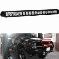 Marloo 180W Led Licht Bar 30 Zoll Fahren Arbeit Offroad Licht für Auto Jeep 4WD UTV Lkw Pickup 4x4 Fahrzeug 12V 24V Automotive 4D