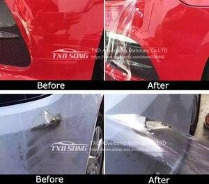 Image 2 - 10/20/30/40/50/60X152CM 100% Trasparente di Protezione Car Sticker con 3 strati Auto pellicola di protezione della Vernice Auto protegge la pellicola