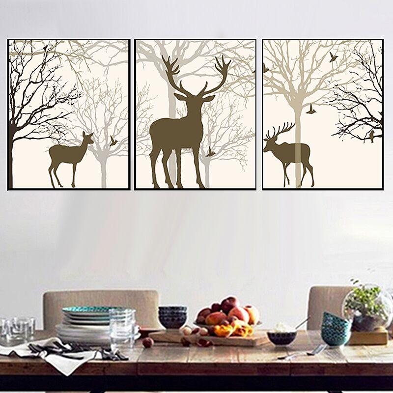 21 Forest deer