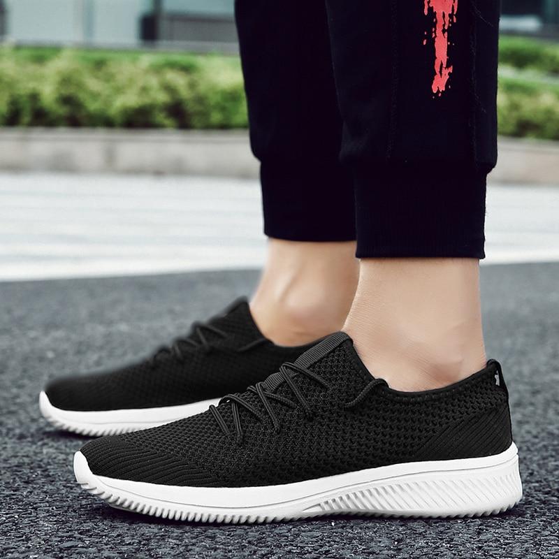 Hommes chaussures été 2018 nouvelle maille mode chaussures décontractées respirantes hommes haute qualité chaussures décontractées 5