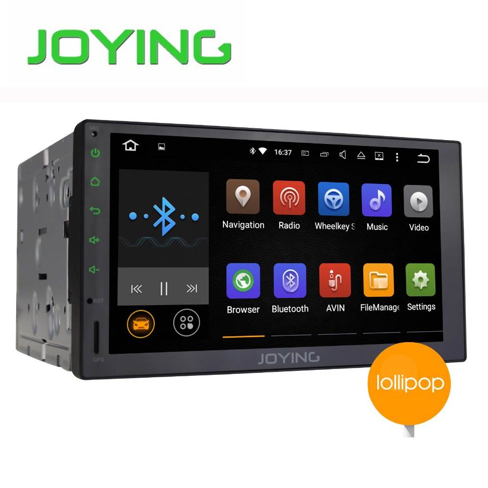 "Joying 7"" Double 2 Din Android 5.1.1 Audio Stereo Head Unit Full Touch Screen 1024*600 Quad Core Universal Car GPS Navigation"
