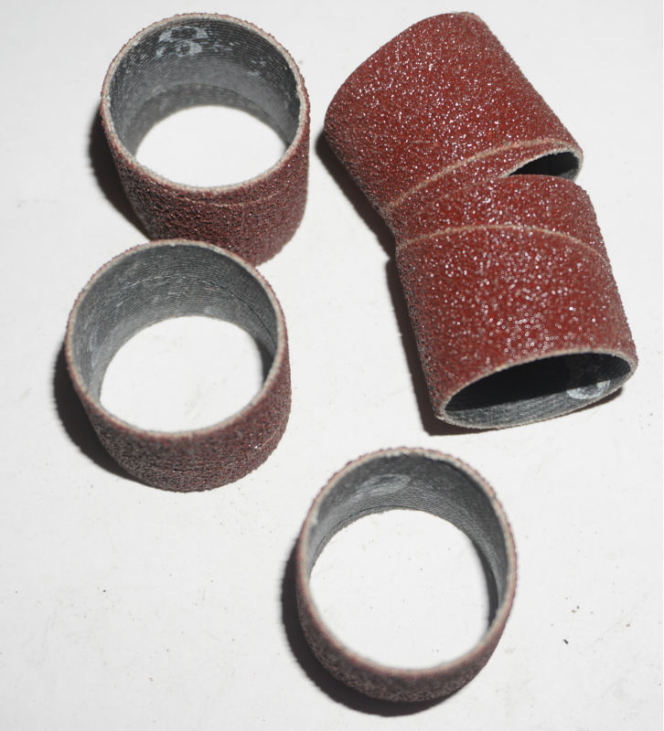 200Pcs 30 30mm Grit 40 60 80 120 Sanding drum Sleeves sanding paper abrasive tool