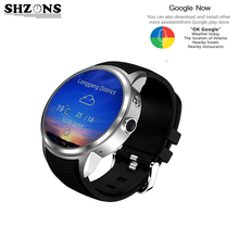 """High Quality W2 Smart Watch 3G 1.39"""" Android 5.1 Round Touch Screen Bluetooth Waterproof Wrist Watch Support GPS Camera Watch"""