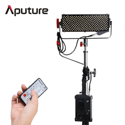 Aputure New LED Video Light bulb Light Storm LS 1/2w CRI95+ 264 SMD lamp beads led flood light with V-mount Controller Box