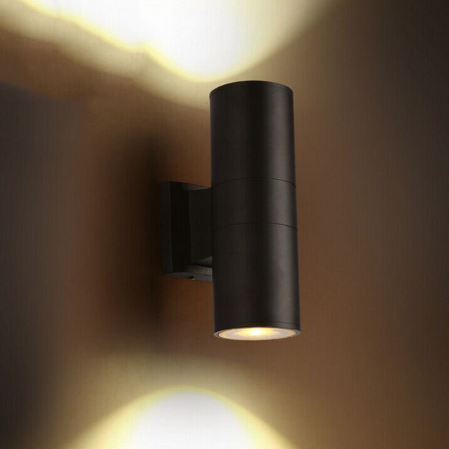 Modern Wall Lights Up And Down Garden Simple Beside Lamp Dining Room Restaurant Sconce Light