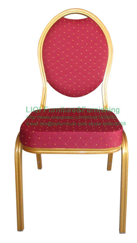 wholesale quality strong Stacking aluminum hotel chairs LQ L1080