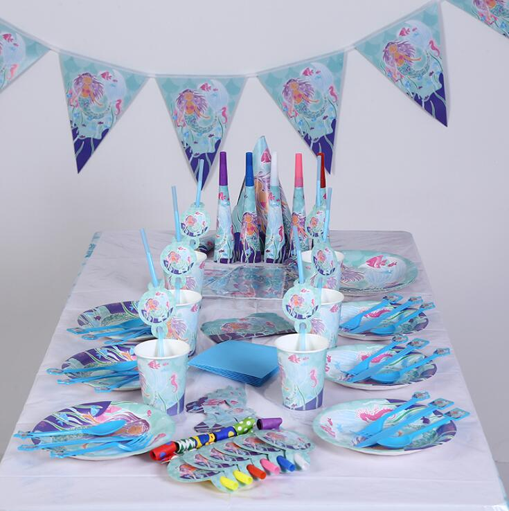 PARTY TABLEWARE UNDER THE SEA 25CM NAPKINS PACK 16