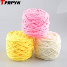 TPRPYN 1 шт = 100 г хлопок цветной краситель шарф ручной вязки пряжа для ручного вязания шарф мягкая молочная Хлопковая Пряжа Толстая
