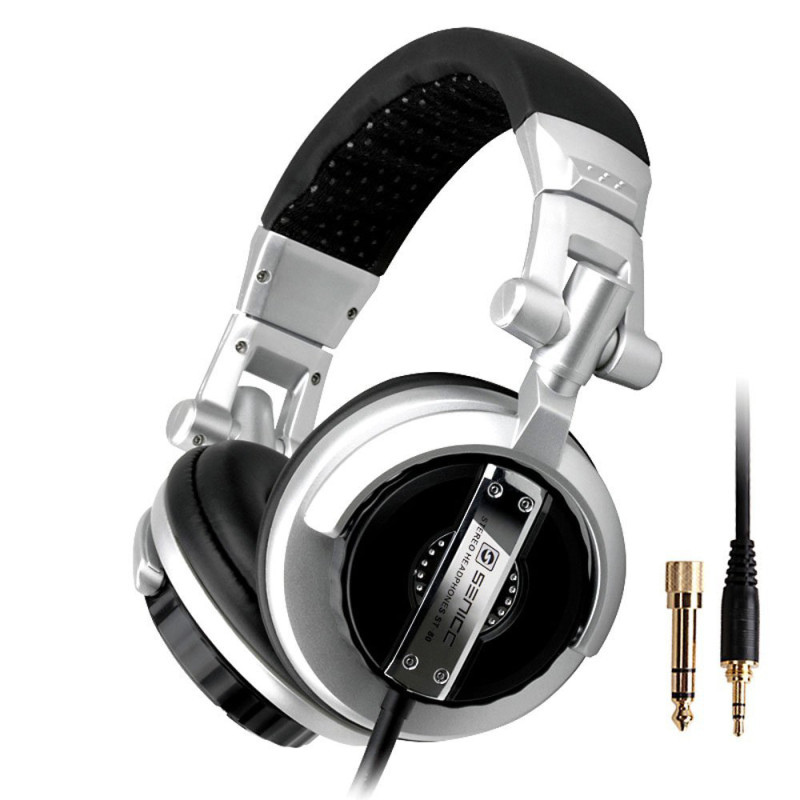 Somic ST-80 Professional Pro Monitor Music Hifi Headphones Foldable DJ Headset Without Mic Bass Noise-Isolating Stereo Earphones somic g929 sorround sound noise isolating powerful bass hifi music computer gaming 3 5mm headset headphones for cs cf dota lol