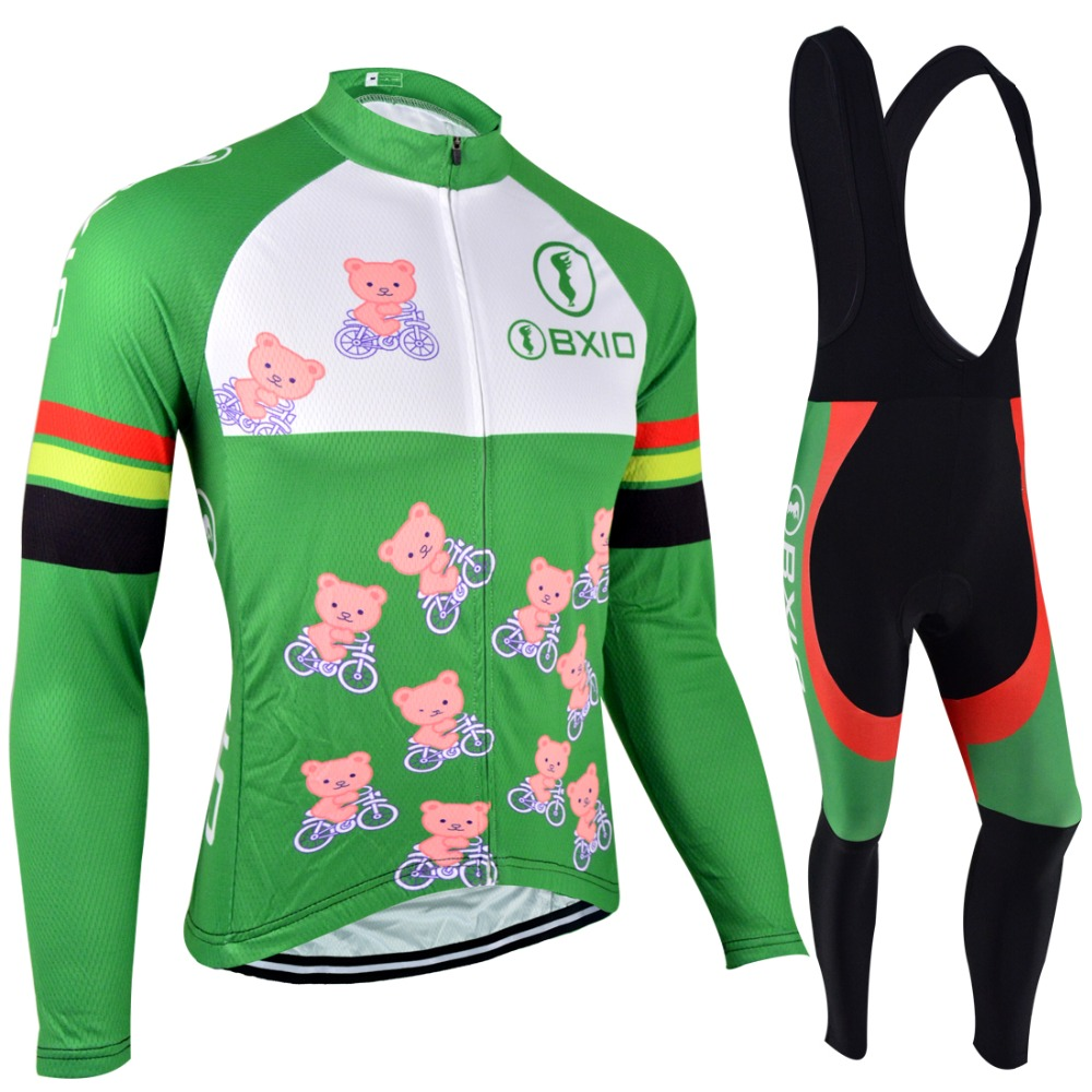 BXIO Mujer Ropa Ciclismo Long Sleeve Bike Clothing Winter Thermal Fleece Cycling Jerseys Pro Team Autumn Bicycle Clothes 103 xintown pro team cycling jerseys ropa ciclismo maillot winter thermal fleece bicycle clothing mens bicycle clothing bike clothes