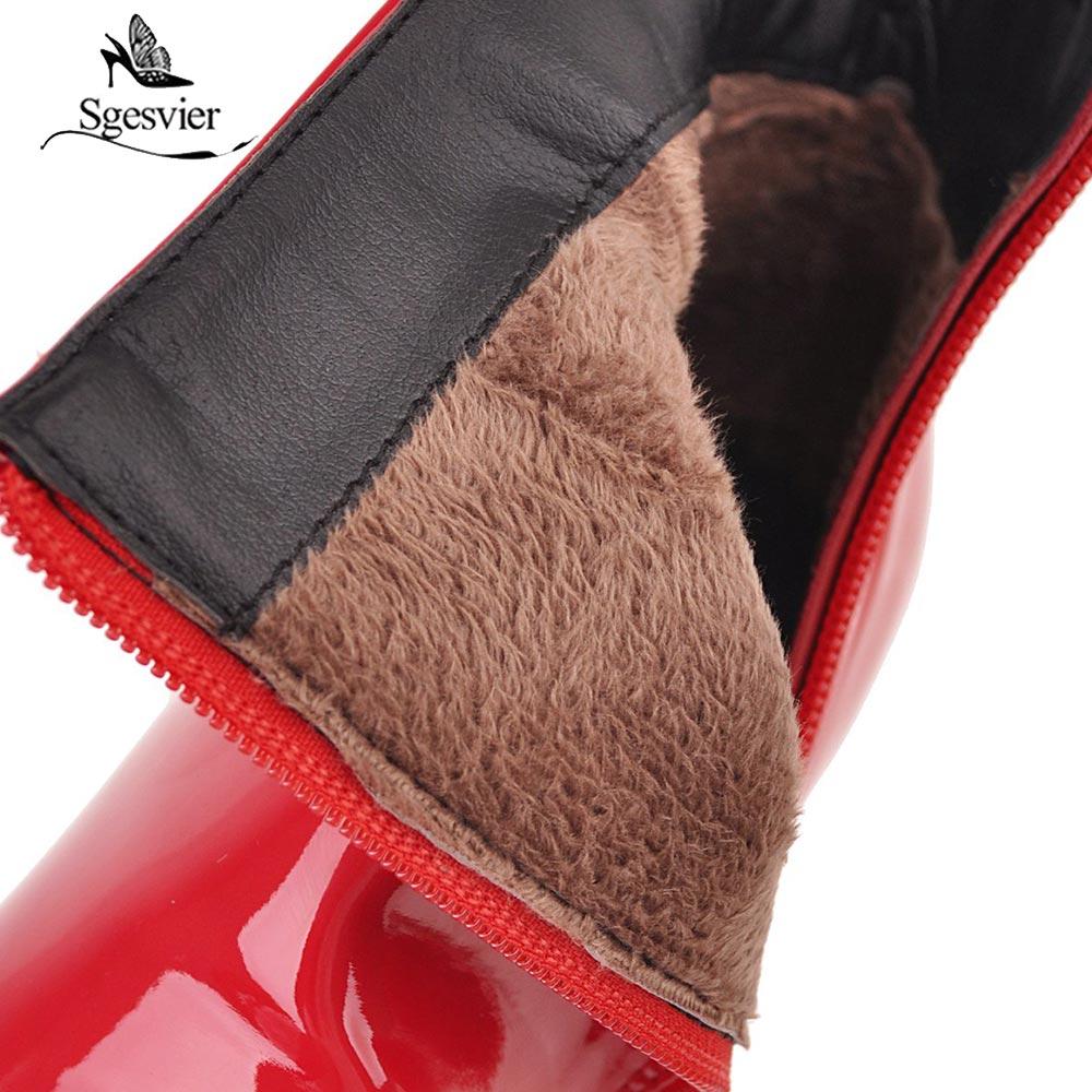 plata Redonda Moda Marca Cuero oro S844 rojo La Botas Señoras Pu Tacón Nueva Punta Negro De Botines Sexy Moto Diseñadores Zapatos Alto Lsewilly Negro qFwgzz
