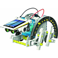 HOT SALE Creative diy toy  DIY 14IN1    Educational   Learning  Toys  Power  Solar Robot Kit  Children  Kids TOY