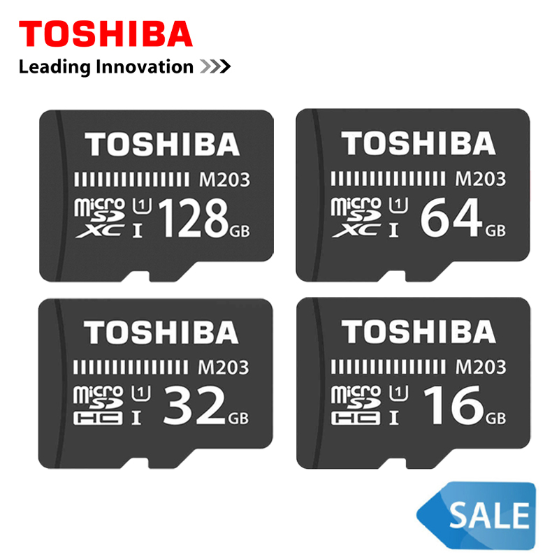 Original TOSHIBA 128GB U1 Memory Card 64GB 256G SDXC Max 100M/s Micro SD Card SDHC-I 32GB 16G Class10 Official Verification 8G