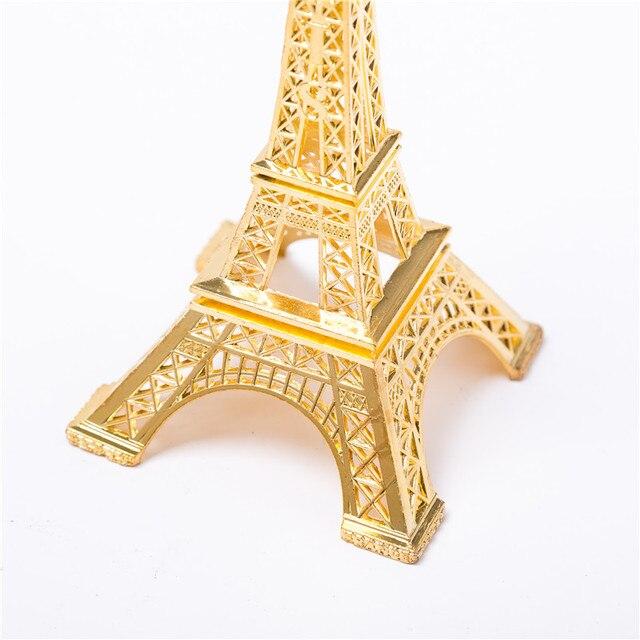 Golden Eiffel Tower Decor  4