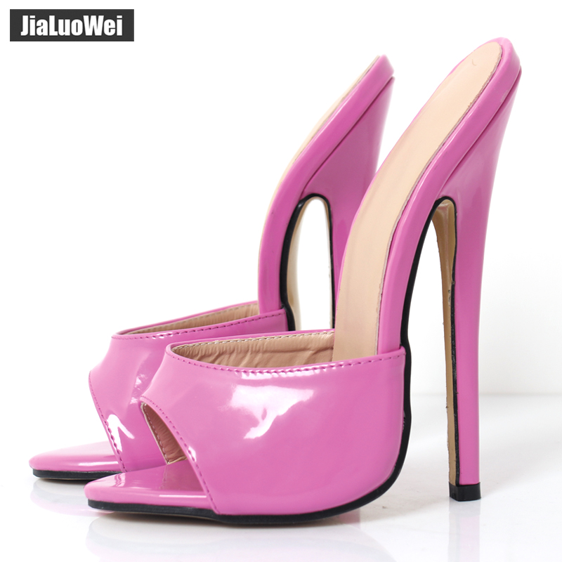 2017 Summer Women Sexy PU Leather High Heels shoes Ladies Black party Shoes Sexy Peep Toe Summer/Spring Sandals Slippers zorssar brand 2017 high quality sexy summer womens sandals peep toe high heels ladies wedding party shoes plus size 34 43