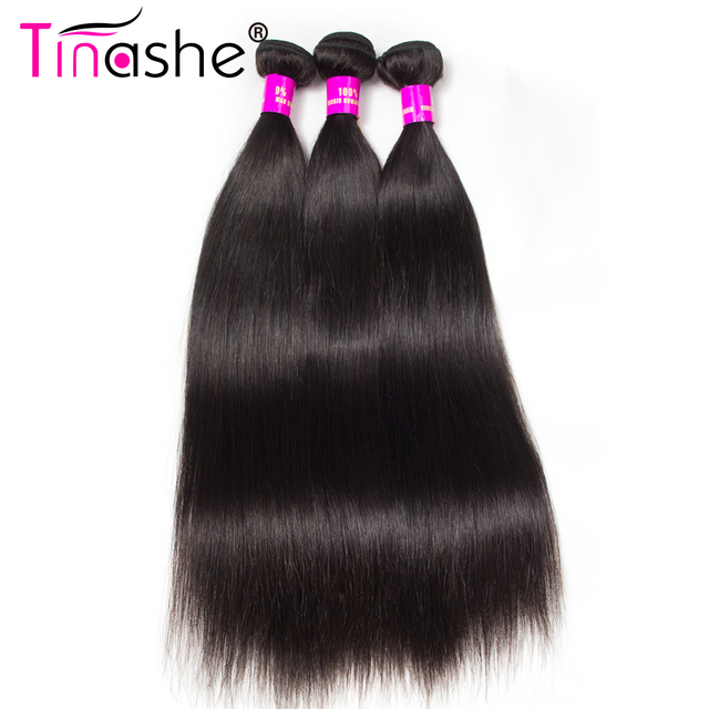 Tinashe Hair Peruvian Straight Hair Weave Bundles 100 Human Hair 3