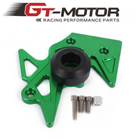 GT Motor - Motorcycle Accessories Front Guard Chain Sprocket Cover four color choose for kawasaki z125 2015 2016