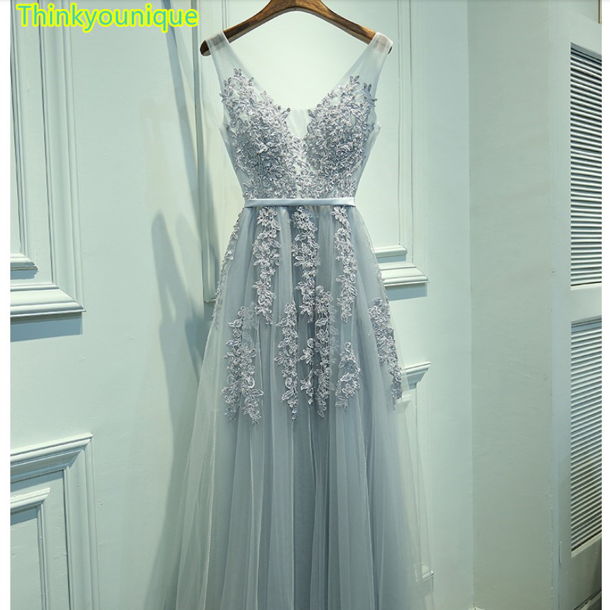 ④Free shipping Customized A line Party Gown Formal Long Evening ...