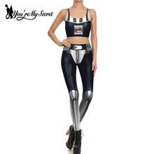 Darth Vader Constume Dark-Lord Cosplay STAR Women's Anime Party Sexy Fashion Top Legging-Set